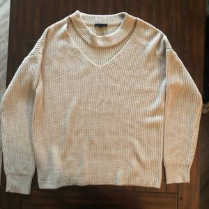 Sweaters - V cut out sweater